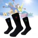 Chaussettes Chauffantes Rechargeables avec Batterie au Lithium 2200 mAh