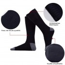 Chaussettes Chauffantes avec Batterie au Lithium Rechargeables - Couleur Noir ou Gris