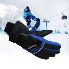 Gants Chauffants Avec une Batterie de 4000 mAh - Parfait pour la Randonnée - Bleu ou Orange