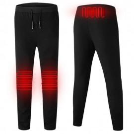 Pantalon Chauffant Unisexe Élastique avec USB Infrarouge